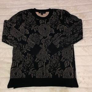 Ann Taylor Floral Sweater